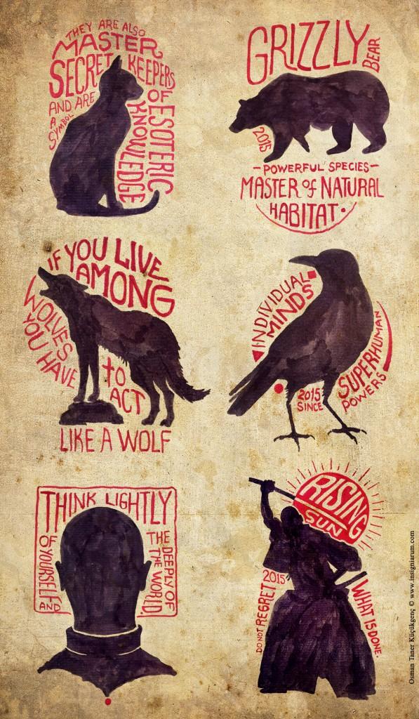 H A N D  L E T T E R I N G Hand Lettering Projects V.2  - 2015