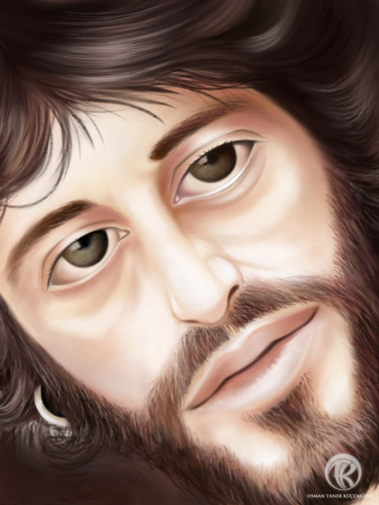 Serpico Digital Painting iPad Mini Procreate