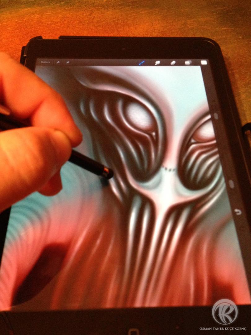 Digital Painting iPad Mini-Procreate