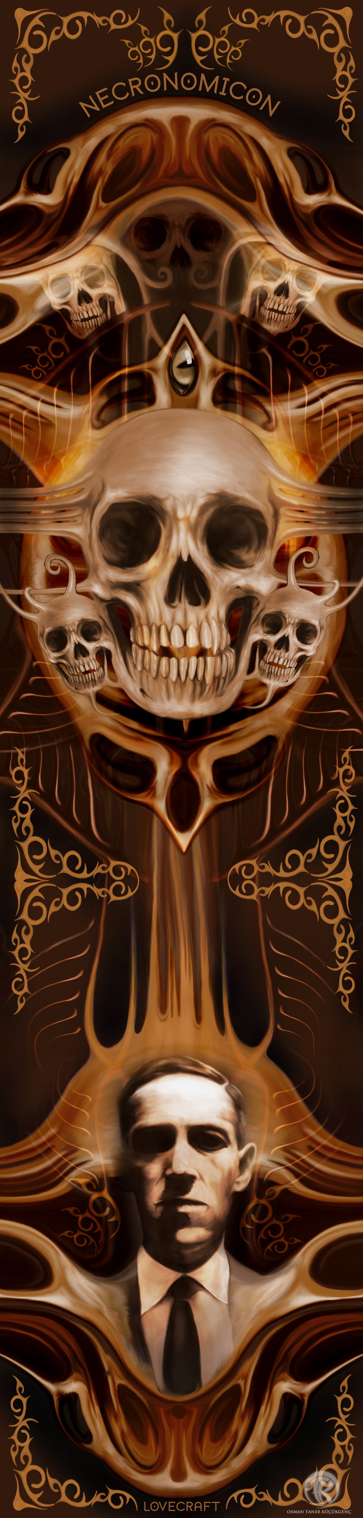 NECRONOMICON Digital Painting wacom intuos 5 - Photoshop CS5